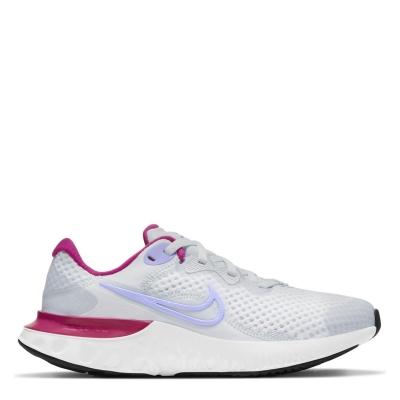 Nike Renew Run 2 Big Shoe pentru Copii gri mov albastru
