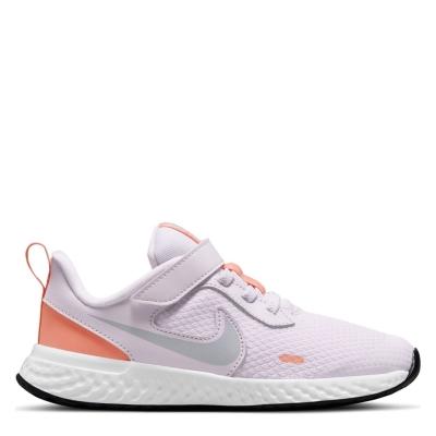 Nike Revolution 5 Child Shoes pentru fete violet rosu inchis
