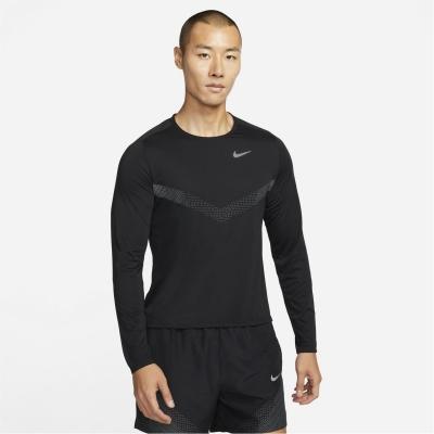 Nike Run Div 365 LS Sn14 negru