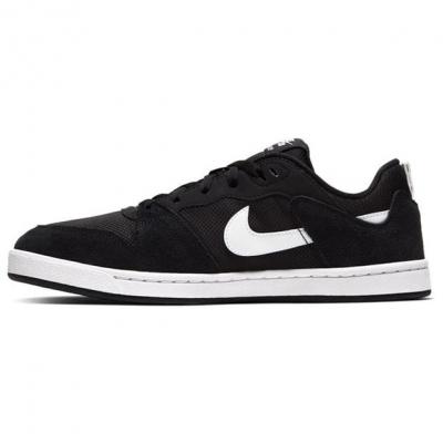 Nike SB Alleyoop Skate Shoes pentru Barbati negru alb