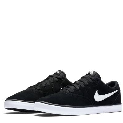 Nike SB Check Solar Skate Shoes pentru Barbati negru alb