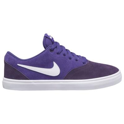 Nike SB Check Solarsoft Skate Shoe pentru femei mov alb