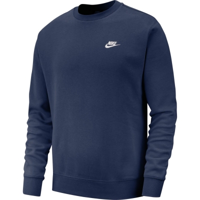 Nike Sportswear Club Crew bleumarin