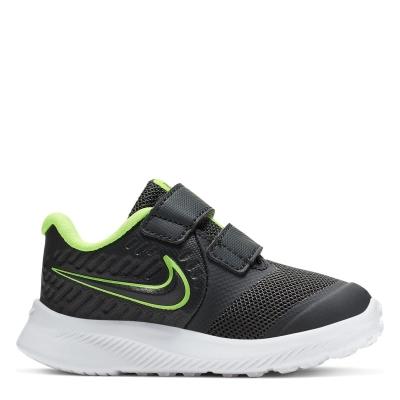 Nike Star Runner 2 / Shoe pentru Bebelusi pentru Bebelusi gri inchis verde