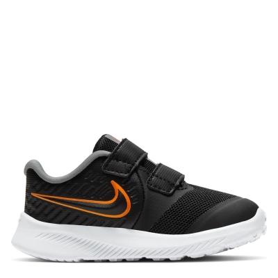 Nike Star Runner 2 / Shoe pentru Bebelusi pentru Bebelusi negru portocaliu