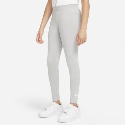 Nike Swoosh Tight pentru fetite gri alb