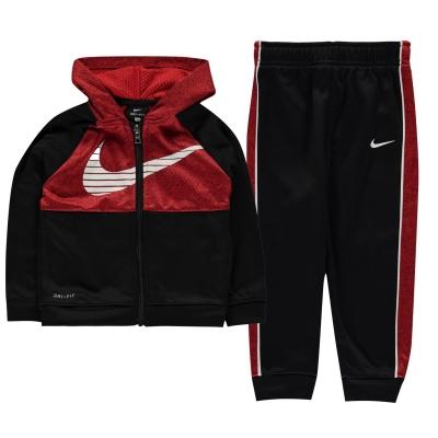Treninguri Nike Therma CB pentru baieti pentru Bebelusi negru rosu