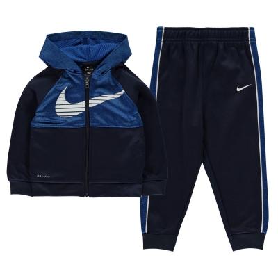 Treninguri Nike Therma CB pentru baieti pentru Bebelusi albastru bleumarin