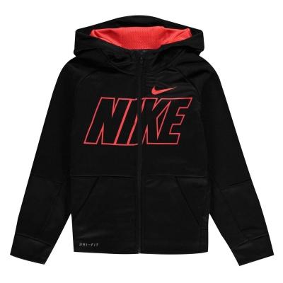 Hanorac Nike FZ baietei negru