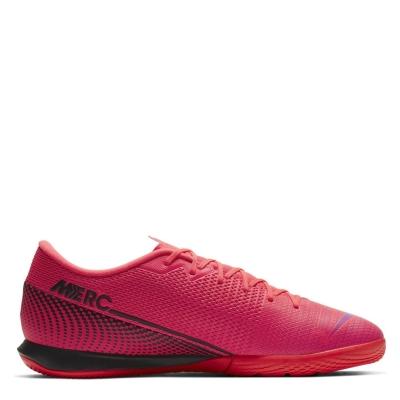 Ghete de fotbal Nike Vapour 13 Academy Indoor Unisex laser rosu inchis