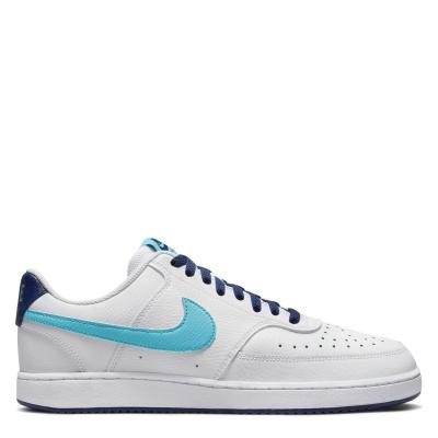 Nike Vision Low Shoe pentru Barbati alb albastru nba