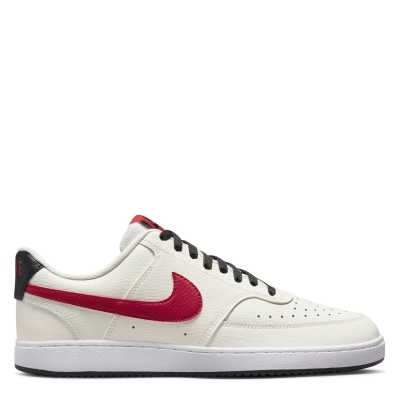 Nike Vision Low Shoe pentru Barbati alb rosu nba