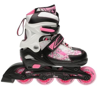 No Fear Spirit Skate negru alb roz