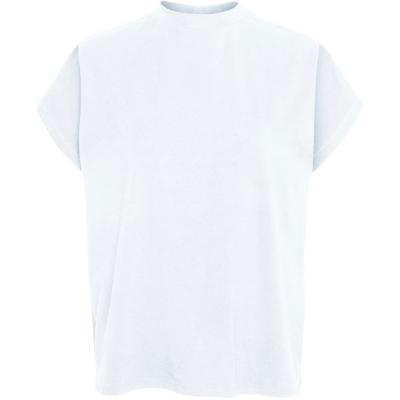 Tricou Noisy May Top cu Maneca Scurta bright alb