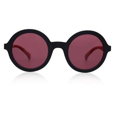 Ochelari de soare adidas Originals Original 09 Round pentru Femei negru rosu