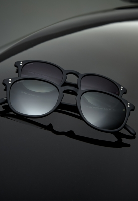 Ochelari de soare Arthur Youth negru-gri MasterDis