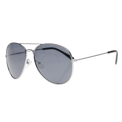 Ochelari de soare Slazenger Aviator pentru Barbati negru argintiu