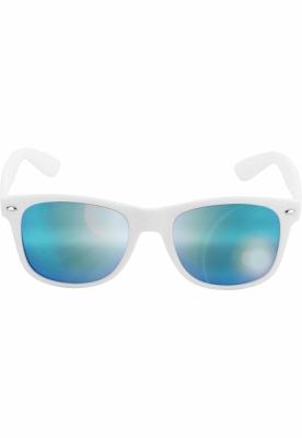 Ochelari de soare Likoma Mirror alb-albastru MasterDis