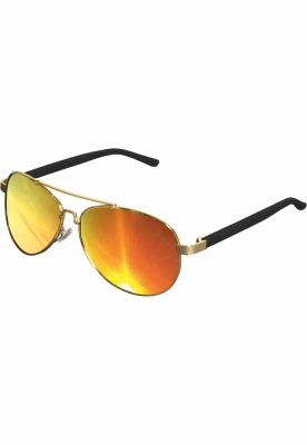 Ochelari de soare Mumbo Mirror auriu-portocaliu MasterDis
