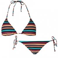 Costum de baie bikini ONeill cu dungi Set pentru Femei