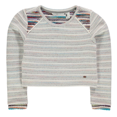 Bluza de trening ONeill Wild pentru fetite alb