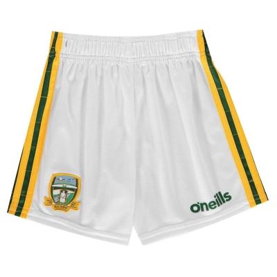 ONeills Meath Mourne Short pentru copii alb galben verde