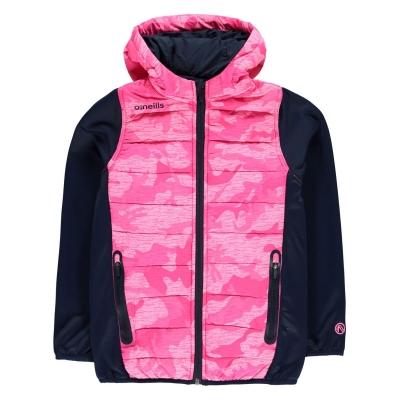 Jacheta ONeills Camo pentru copii roz camuflaj