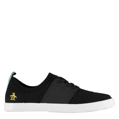 Adidasi sport Original Penguin Cult Flyknit negru