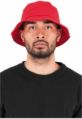 Palarie vara bumbac Flexfit Twill Bucket Hat barbati rosu