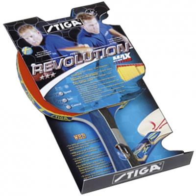 Paleta tenis de masa Revolution Max Stiga albastru