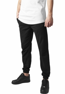 Pantalon barbati casual cargo negru Urban Classics