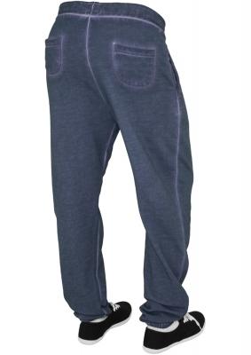 Pantalon sport spray dye albastru-denim Urban Classics