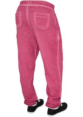 Pantalon sport spray dye fucsia Urban Classics