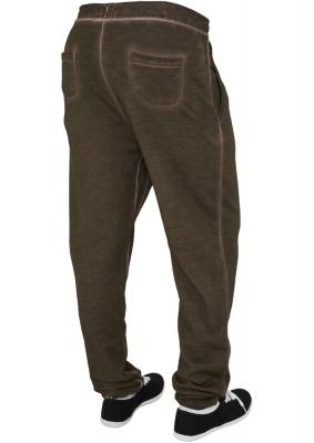 Pantalon sport spray dye oliv Urban Classics