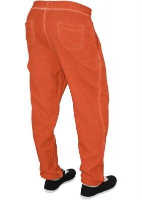 Pantalon sport spray dye portocaliu Urban Classics
