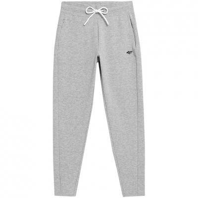 Pantaloni 4F Cool gri Melange H4Z21 SPDD015 27M pentru femei