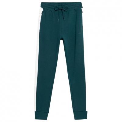 Pantaloni 4F Dark verde H4Z21 SPDD013 40S pentru femei
