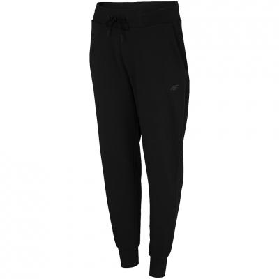 Pantaloni 4F negru intens NOSH4 SPDD350 20S pentru femei