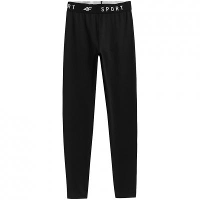 Pantaloni 4F negru intens NOSH4 SPDF351 20S pentru femei