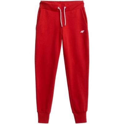 Pantaloni 4F rosu NOSH4 SPDD002 62S pentru femei