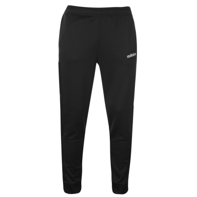 Pantaloni adidas cu mansete Pes pentru Barbati negru alb