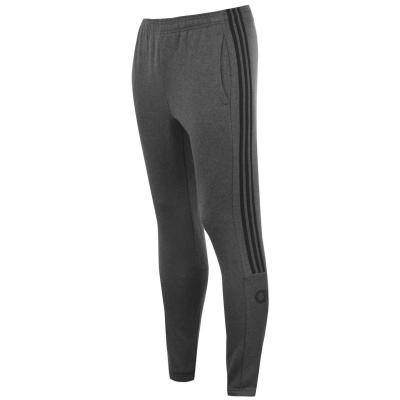 Pantaloni adidas Essentials 3-Stripes pentru Barbati gri inchis negru