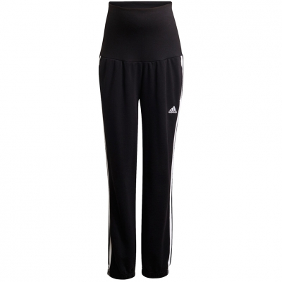 Pantaloni Adidas Essentials bumbac 3-Stripes negru GS8614