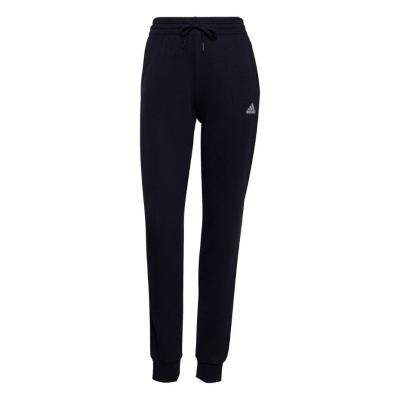 Pantaloni Adidas Essentials French Terry Logo bleumarin H07857 pentru femei