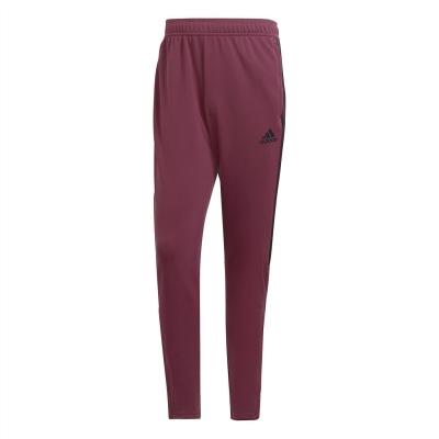 Pantaloni adidas fotbal Sereno 19 Slim rosu burgundy negru