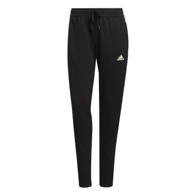 Pantaloni adidas fotbal Sereno Slim pentru femei negru alb