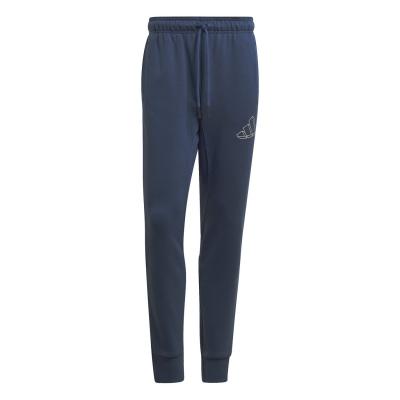 Pantaloni adidas Icon cu mansete pentru Barbati crew bleumarin
