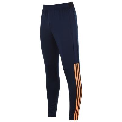 Pantaloni adidas Trofeo pentru Barbati bleumarin portocaliu