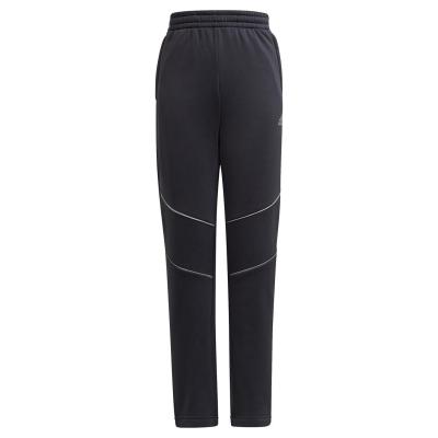 Pantaloni adidas XFG Warm pentru baieti gri carbon negru