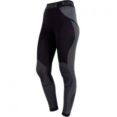 Pantaloni Alpinus Active Base Layer Thermoactive negru And gri GT43185 pentru femei